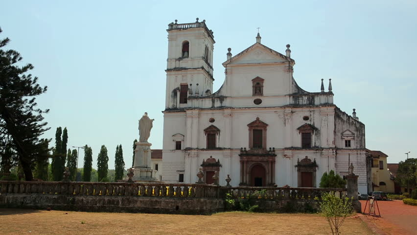 Church In 17th Century Colonial Baroque Style Stock ...