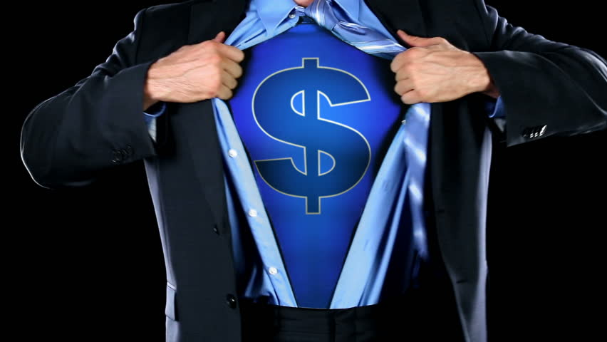 Man Reveals Dollar Sign on Chest - HD stock footage clip