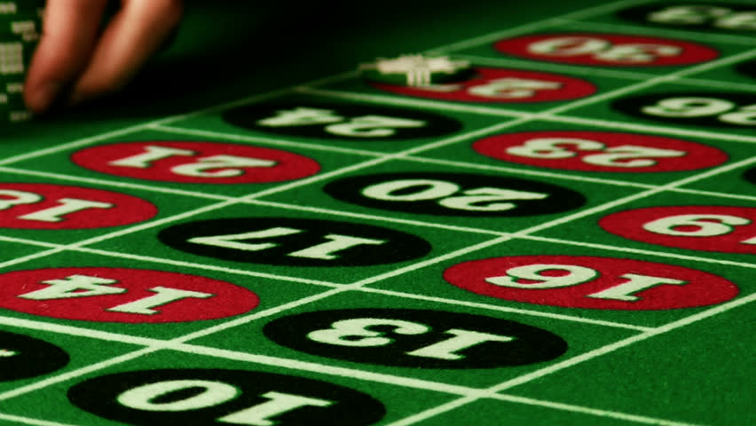 Roulette wheel close up stock footage video 324397 shutterstock - Table tv a roulettes ...
