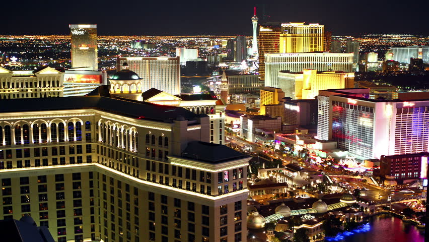 Las vegas aerial view time lapse | Shutterstock HD Video #4187015