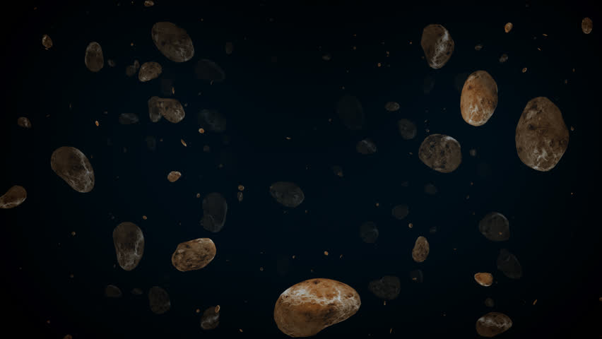 asteroid field hd - photo #7