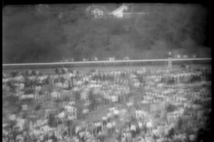 1950s - Kentucky Derby race of 1958.