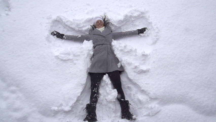 Making Snow Angels Naked