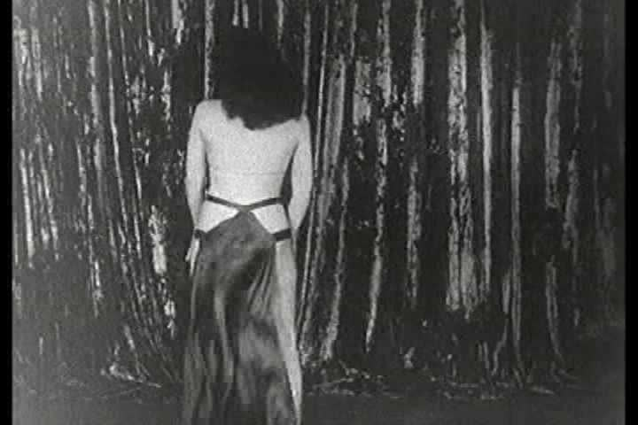 1930s - Lovely Rene The Toast Of paris performs a striptease in this 1930s burlesque stag film.