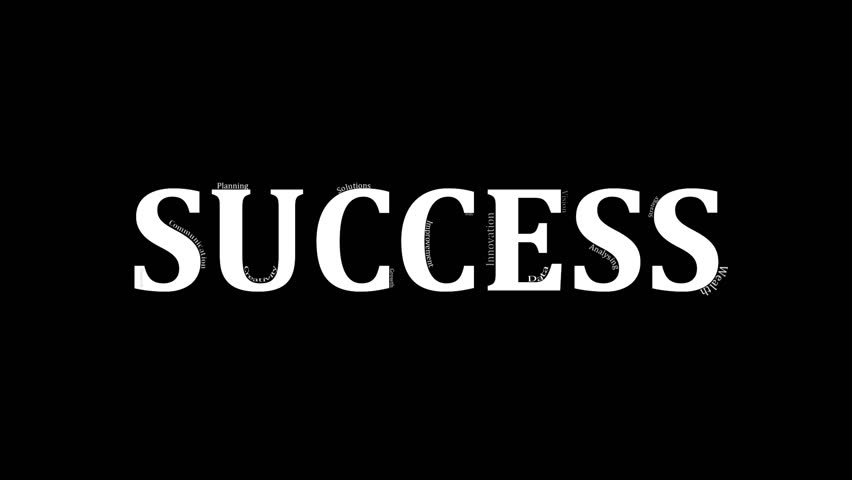 Graphic design footage #page 18| Stock clips & videos The Word Succeed