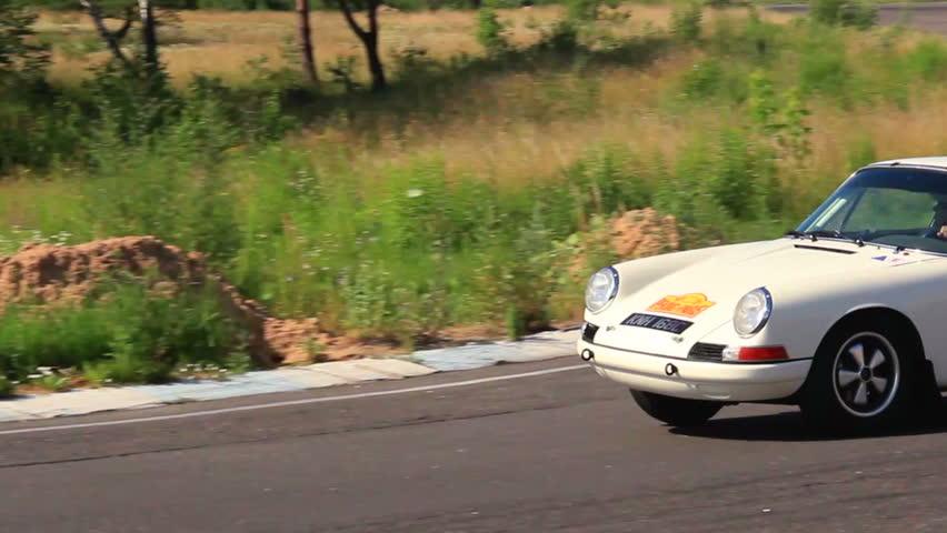 KIEV, UKRAINE - JUNE 22: International Rally Peking to Paris 2013. Sport car