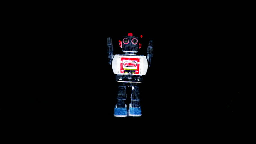 crazy robot toy