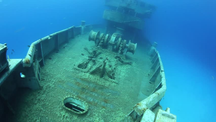 The USS Kittewake is a former US Navy vessel that was intentionally sunk off
