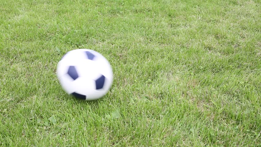 Ball Rolling Into The Hole Stock Footage Video 2314904 ... Rolling Soccer Ball Picture