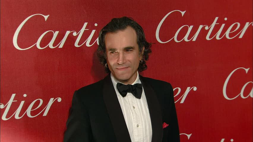 PALM SPRINGS - January 5, 2008: Daniel Day Lewis at the Palm Springs International Film Festival Gala 2008 in the Palm Springs Convention Center in Palm Springs January 5, 2008