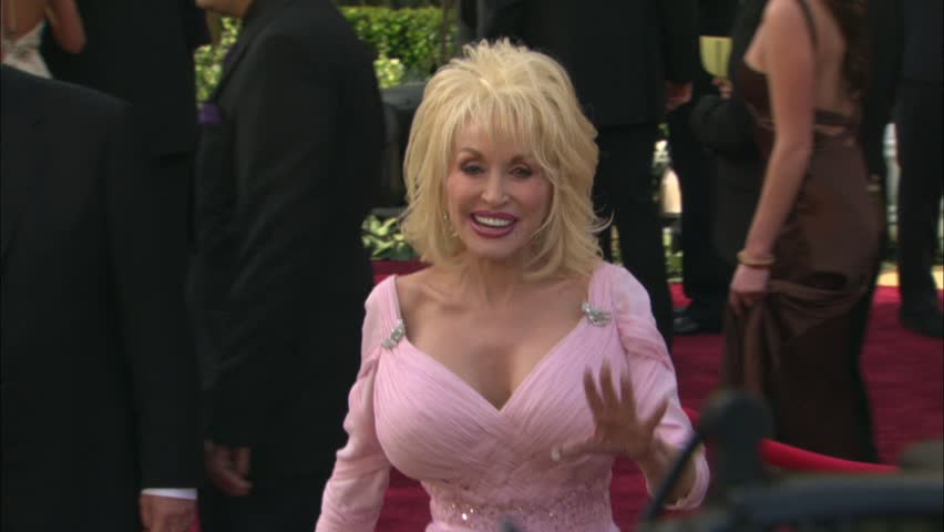 HOLLYWOOD - March 5, 2006: Dolly Parton at the Academy Awards 2006 in the Kodak Theatre in Hollywood March 5, 2006