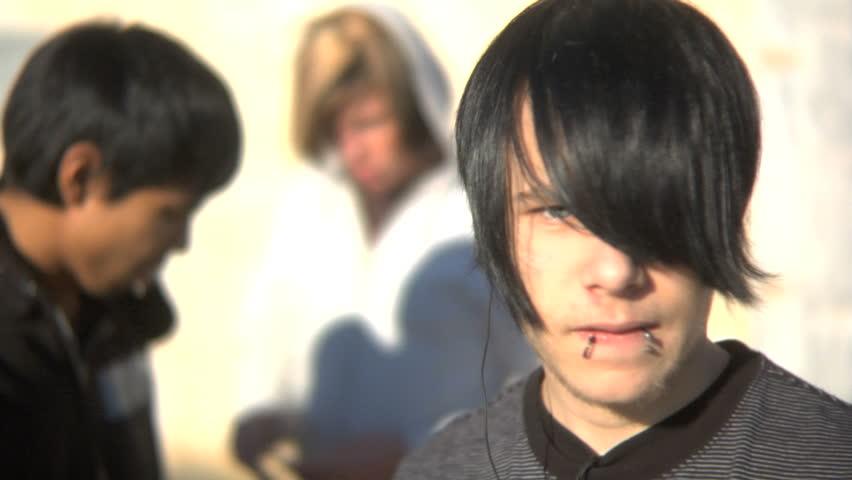 Teenager portrait - HD stock video clip
