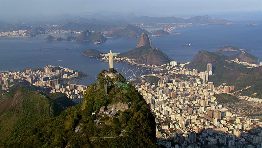Cineflex aerial shot of Rio de Janeiro, Brazil | Shutterstock HD Video #4759181