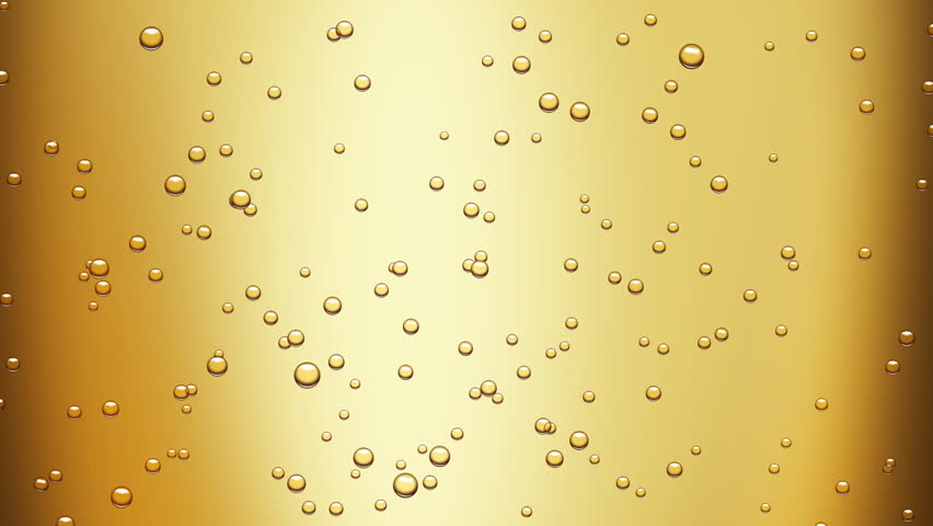 champagne bubbles (seamless loop) + alpha matte - HD stock footage clip