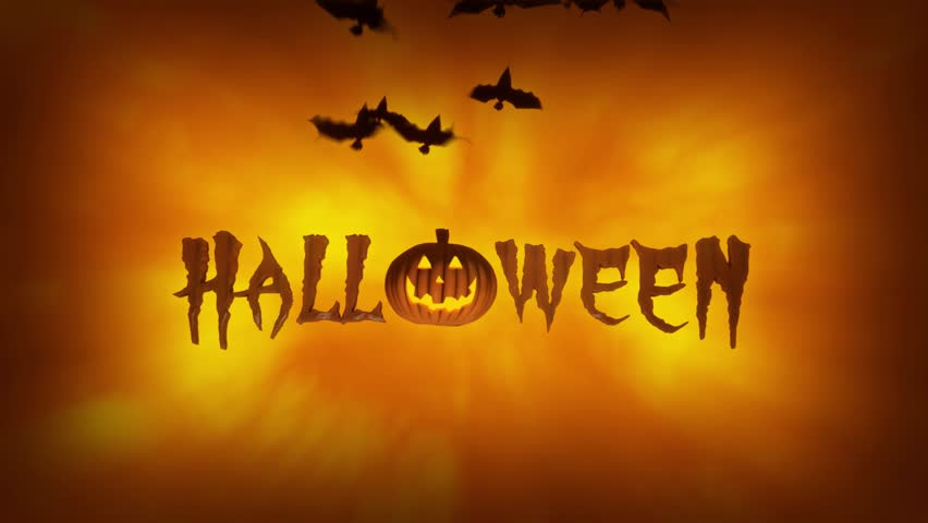 Halloween Spooky Animation Stock Footage Video 4797827