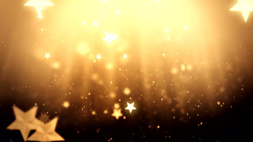 Elegant Christmas Background: Elegant Christmas Background With Stars ( Series 7