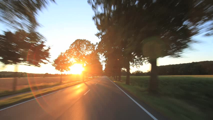 Driving - Driving shot with roof mounted camera  - Germany pov  | Shutterstock HD Video #4822937