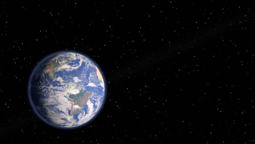 earth is our home, Save it!  - HD stock video clip
