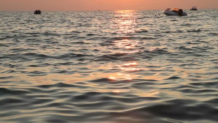 sunset sea #4856813