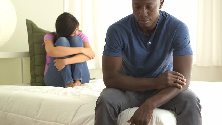 woman 39 s hands hugging an overweight man high definition video shot on studio blue screen stock. Black Bedroom Furniture Sets. Home Design Ideas