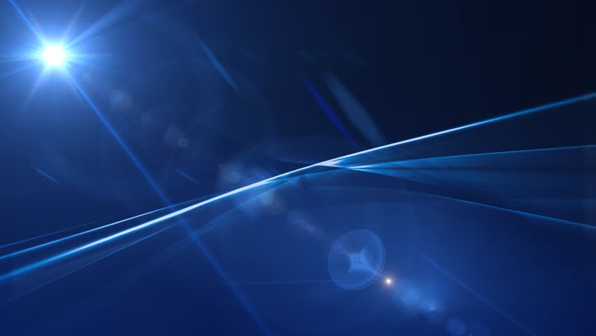 News Style Background - Blue Abstract Motion Background with Lines and Lens Flares | Shutterstock HD Video #4937219