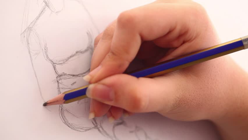 Drawing - HD stock video clip