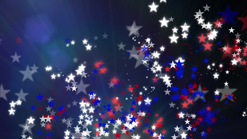 Black And Blue Stars Backgrounds Red White And B...