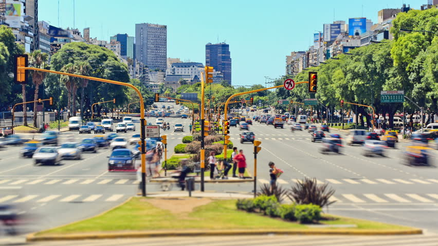 City Traffic Time Lapse 74 Buenos Aires   Shutterstock HD Video #4977791