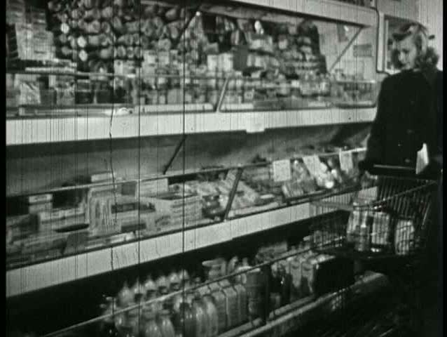 1950s - Labels and grade quality are important things to know when buying food