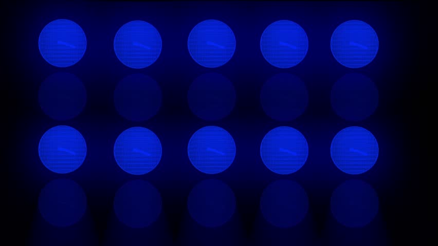 Abstract Animated Random Flashing Blue Lights For Music Videos   Shutterstock HD Video #5033978