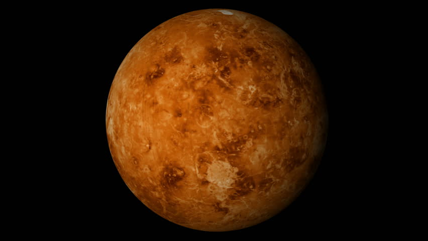 venus planet rotating moving animated - photo #6