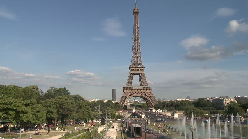 PARIS, FRANCE - 2010: Eiffel Tower | Shutterstock HD Video #5135138