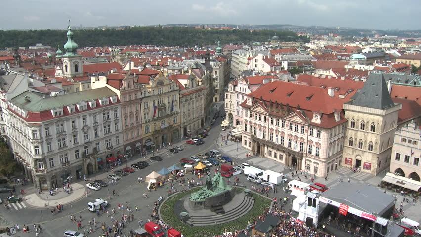City of Prague in Czech Republic - HD stock video clip