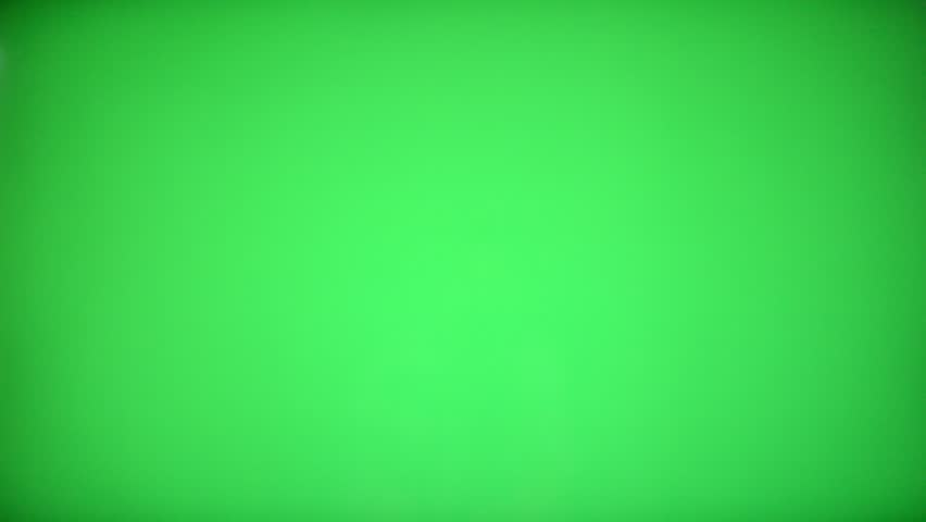 Remote Control Television changing one channel with Chroma Key Green Screen