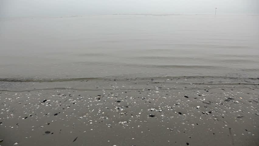 Foggy Sea - HD stock footage clip
