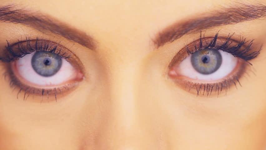 view of eyes makeup - photo #24