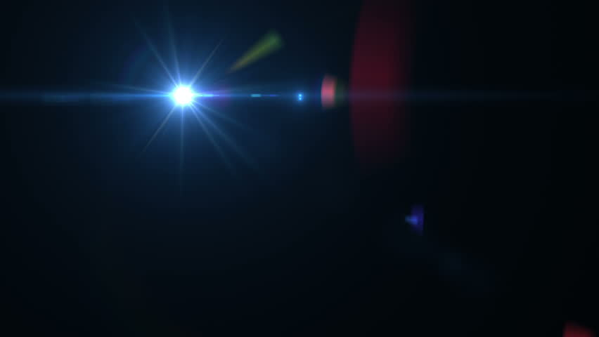 Fancy Light Effects In A Dark Background Stock Footage: Lens Flare From Old Lense Stock Footage Video 8617894
