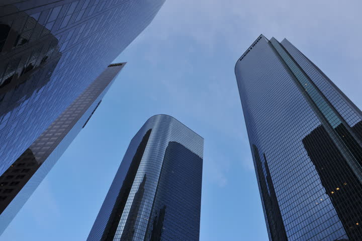 Skyscrapers in Downtown Los Angeles, California, USA | Shutterstock HD Video #5226587