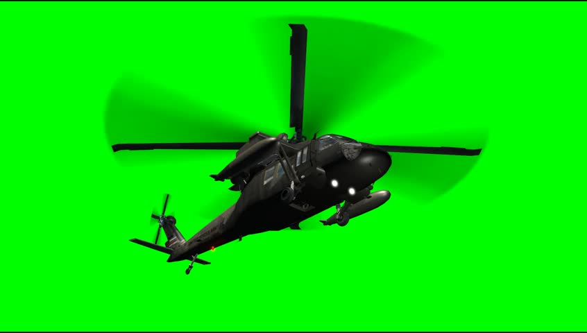 Thanos Home Green Screen Hd 60 Fps: Black Hawk Helicopter Fly Green Screen Stock Footage Video