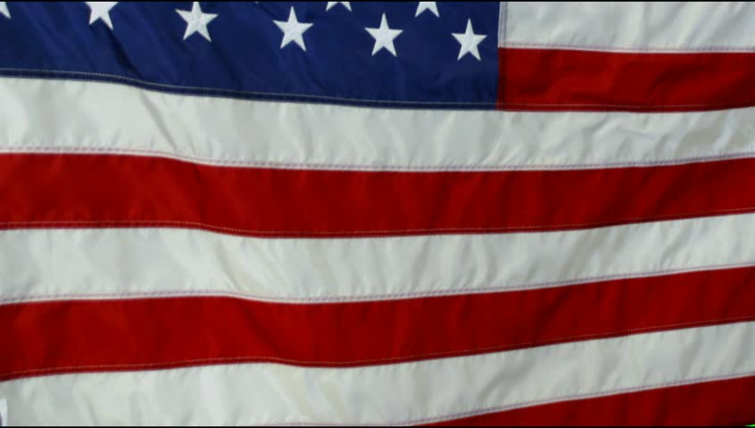 us flag blowing in the wind video background Footage - HD stock footage clip