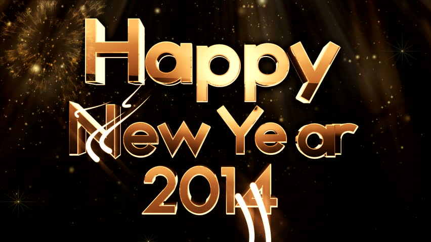 United Color Whell New year animation ( Special Series ) - HD stock footage clip