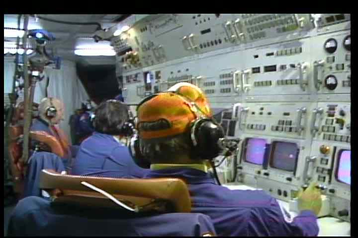Highlights of programs undertaken by NASA in 1981 including space telescope development | Shutterstock HD Video #5289029
