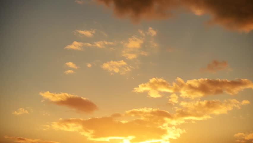 Sunset Cloud Time Lapse