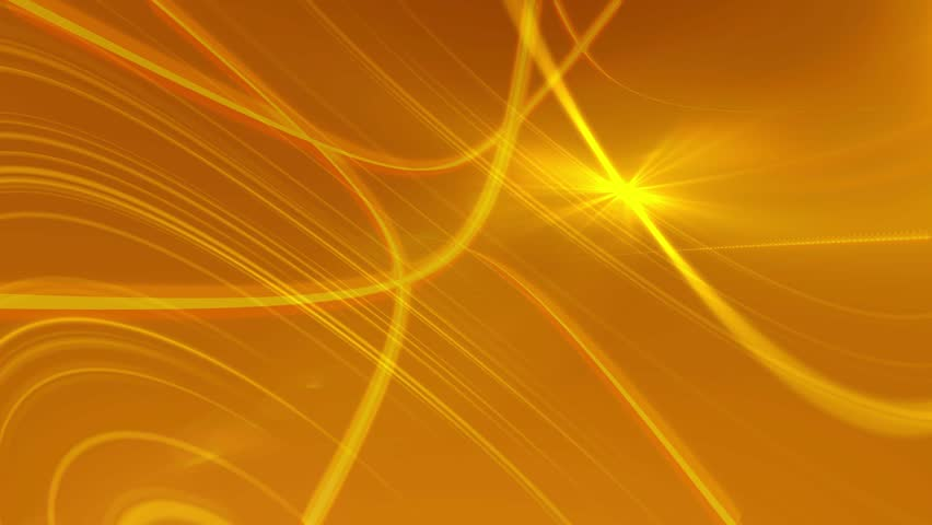 Golden Orange Vector Abstract Background Animated Computer