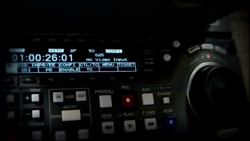Timecode (rewind). work of director