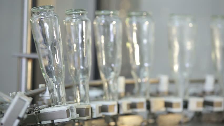 empty bottles of cognac afoot - HD stock video clip