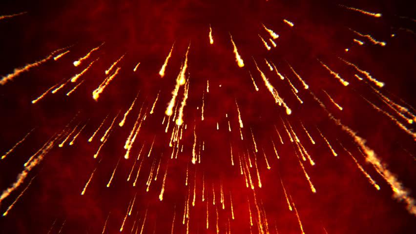 Rain Of Fire - Poem by V P Mahur