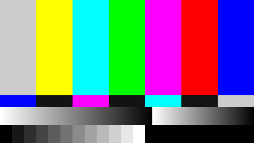 4K (4096x2304) Static Tv Color Bar Test Pattern Videos de ...