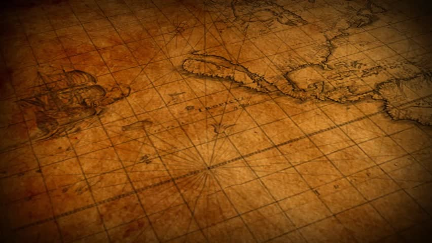 Vintage map of the world - motion background | Shutterstock HD Video #5415524