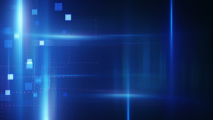 Blue hi tech abstract loopable background stock footage video 3759479 shutterstock - Technology background images hd ...